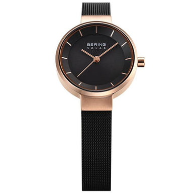 Bering Solar Black 27 mm Women's Watch (14627-166)-Bering-COCOMI