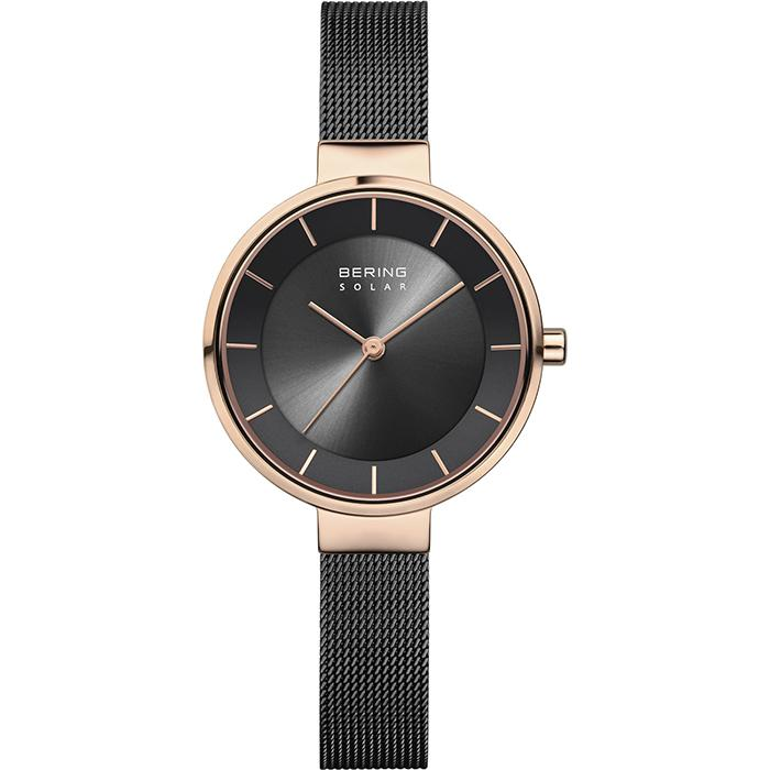 Bering Solar Black 31 mm Women's Watch (14631-166)-Bering-COCOMI
