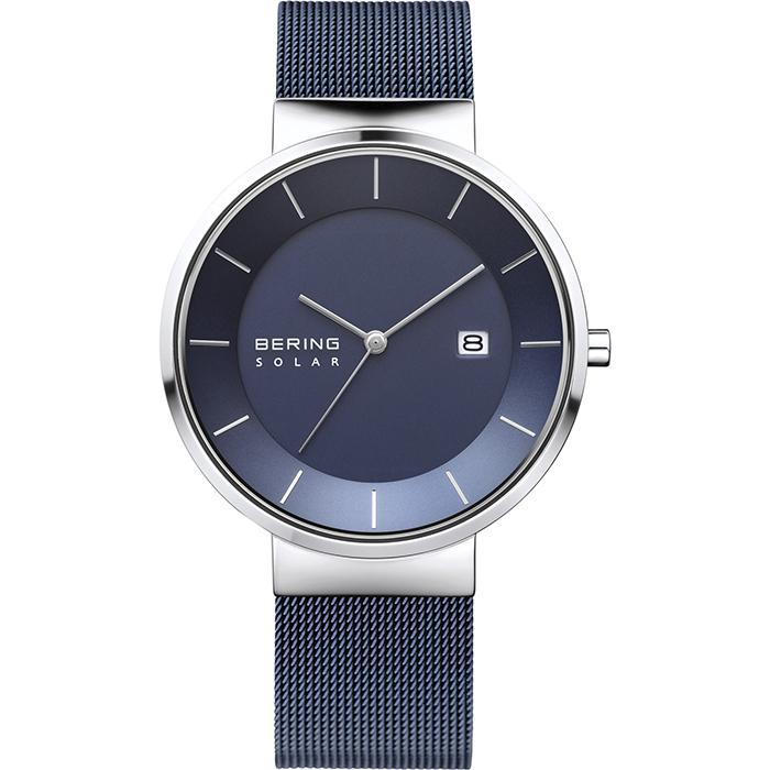 Bering Solar Blue 39 mm Men's Watch (14639-307)-Bering-COCOMI