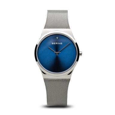 Bering Classic Blue 31 mm Women's Watch (15331-007)-COCOMI
