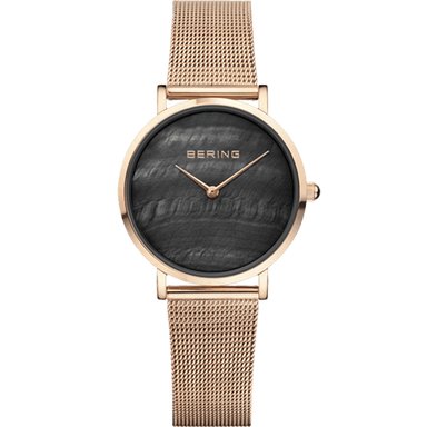 Bering Classic Rose Gold 31mm Women's Watch (15331-362)-BERING-COCOMI