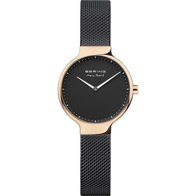 Bering Max Rene Black 27mm Women's Watch (15527-262)-BERING-COCOMI