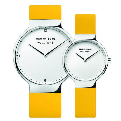 Max Rene 15540-600 Yellow 40 mm Men's Watch x Max Rene 15531-600 Yellow 31 mm Women's Watch-COCOMI