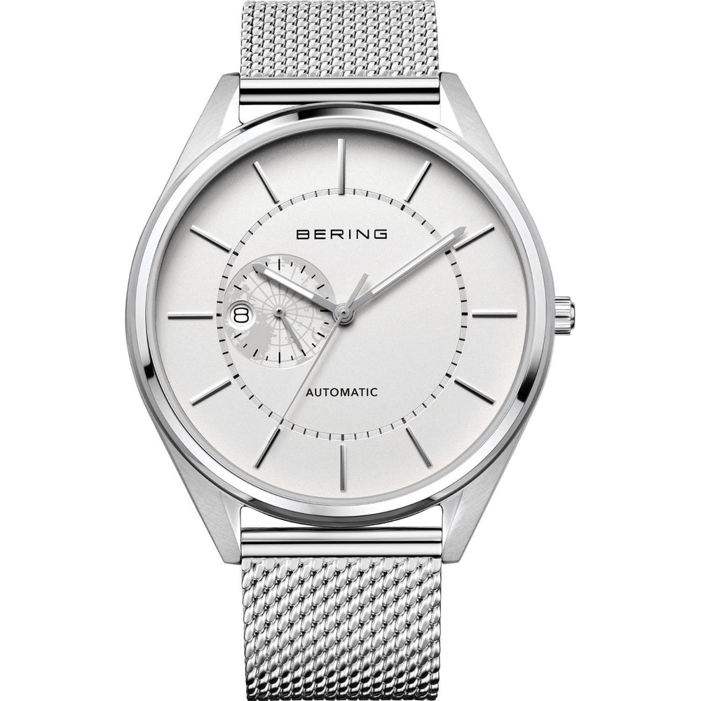 Automatic 16243-000 White 43 mm Men's Watch-Bering-COCOMI