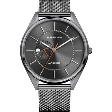Automatic 16243-377 Grey 43 mm Men's Watch-Bering-COCOMI