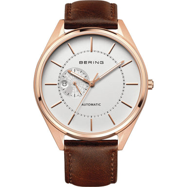 Automatic 16243-564 White 43 mm Men's Watch-Bering-COCOMI