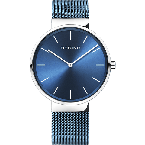 Bering Classic silver 40 mm unisex Watch (16540-308)-BERING-COCOMI