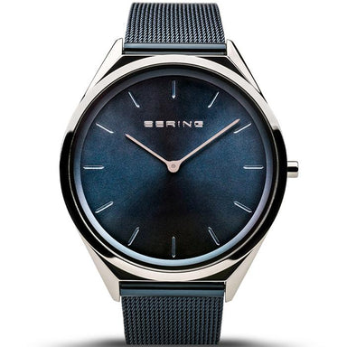 Bering Ultra Slim Blue 39 mm Unisex Watch (17039-307)-BERING-COCOMI