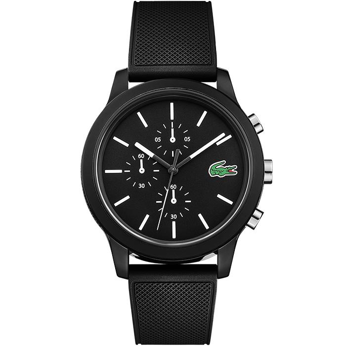 Lacoste Black Men's Watch (2010972)-COCOMI