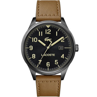 Lacoste Black Men's Watch (2011021)-COCOMI