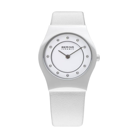 Bering Ceramic 32030-659 White 30 mm Women's Watch - COCOMI