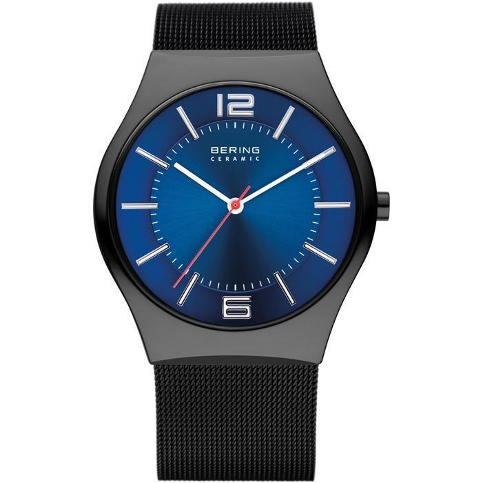 Bering Ceramic 32039-447 Blue 39 mm Men's Watch - COCOMI