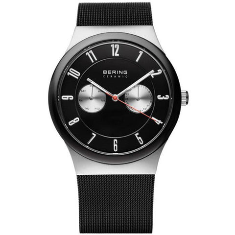Bering Ceramic 32139-202 Black 35 mm Men's Watch - COCOMI