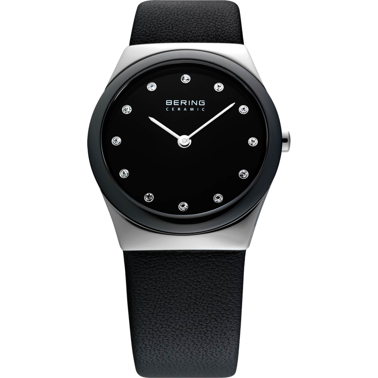 Bering Ceramic 32230-442 Black 30 mm Women's Watch - COCOMI