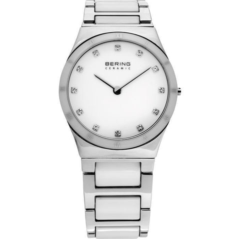 Bering Ceramic 32230-764 White 30 mm Women's Watch - COCOMI