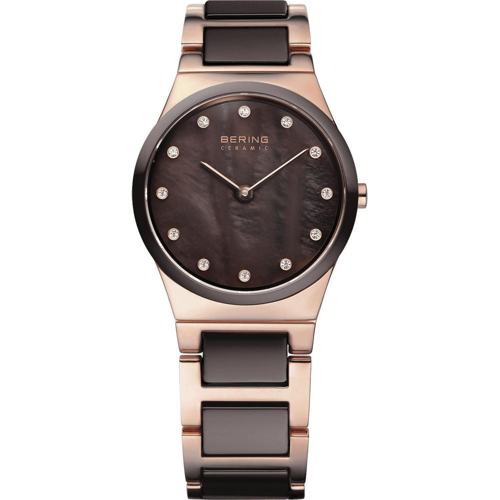 Ceramic 32230-765 Brown 30 mm Women's Watch-Bering-COCOMI
