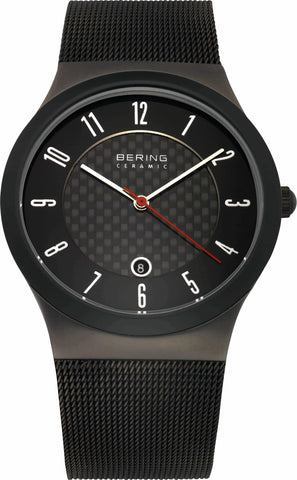 Bering Ceramic 32239-242 Black 39 mm Men's Watch - COCOMI