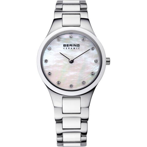 Bering Ceramic 32327-701 White 27 mm Women's Watch - COCOMI