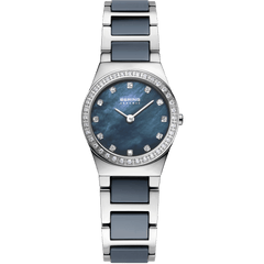 Bering Ceramic 32426-707 Blue 26 mm Women's Watch - COCOMI