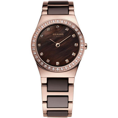 Ceramic 32426-765 Brown 26 mm Women's Watch-Bering-COCOMI