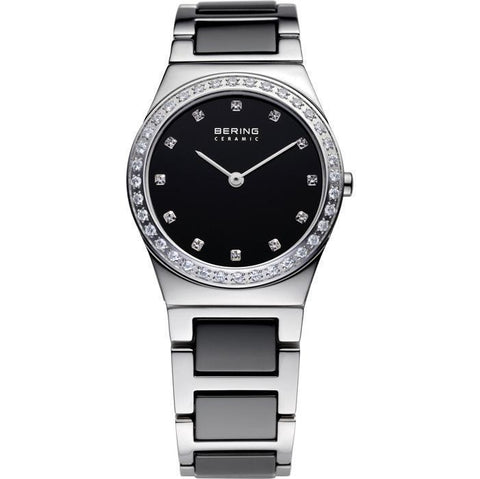 Bering Ceramic 32430-742 Black 30 mm Women's Watch - COCOMI