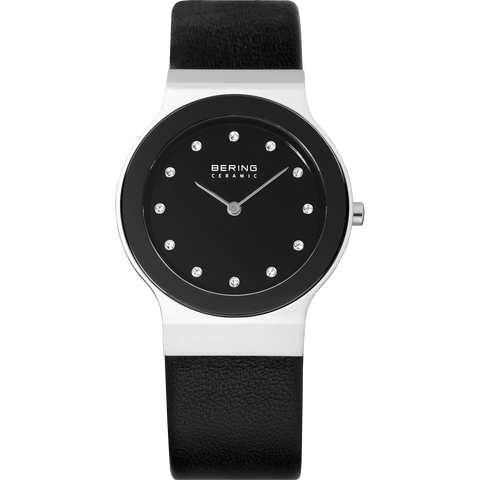Bering Ceramic 32834-442 Black 34 mm Women's Watch - COCOMI