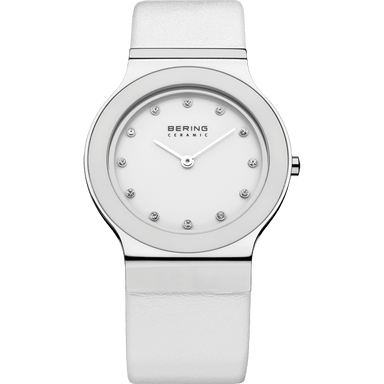 Ceramic 32834-654 White 34 mm Women's Watch-Bering-COCOMI