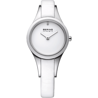 Ceramic 33125-654 White 25 mm Women's Watch-Bering-COCOMI