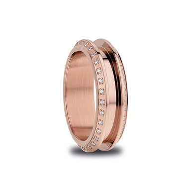 BERING Arctic Symphony Polished Rose Gold Ring (526-37-X3)-BERING-COCOMI