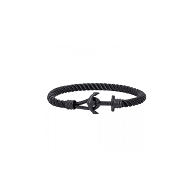 Anchor Bracelet Phrep Lite Ip Black Nylon Black-Paul Hewitt-COCOMI
