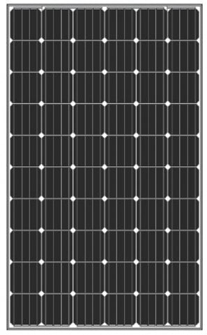 Amerisolar  AS-6M30 280 (Black) 280Wp Solarmodul