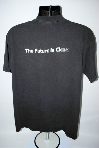 2000 Left Behind The Future Is Clear Vintage Kirk Cameron Classic Crazy Apocalypse Movie Promo T-Shirt