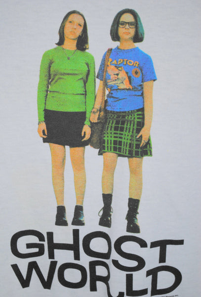 2001 Ghost World Vintage Cult Classic Graphic Novel Movie Promo T-Shirt