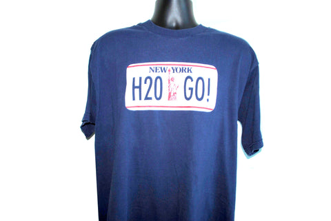 2001 H2O Go Vintage East Coast New York Hardcore Pop Punk Band T-Shirt