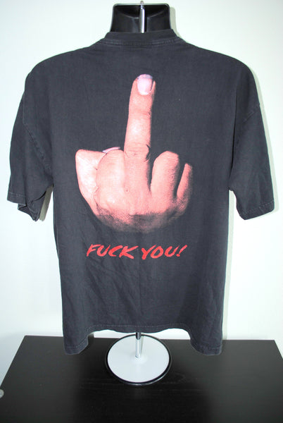2000 Machine Head Fuck You! Vintage Heavy Metal Rock Band T-Shirt