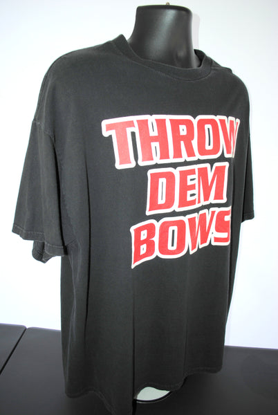 2000 Ludacris Throw Dem Bows Vintage Southern Hospitality ft Pharrell Lyric Promo Classic Y2K ATL Hip Hop Concert Tour T-Shirt