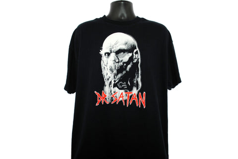 2003 DR. SATAN Vintage House of 1000 Corpses Cult Y2K Rob Zombie Horror Movie Character Promo T-Shirt