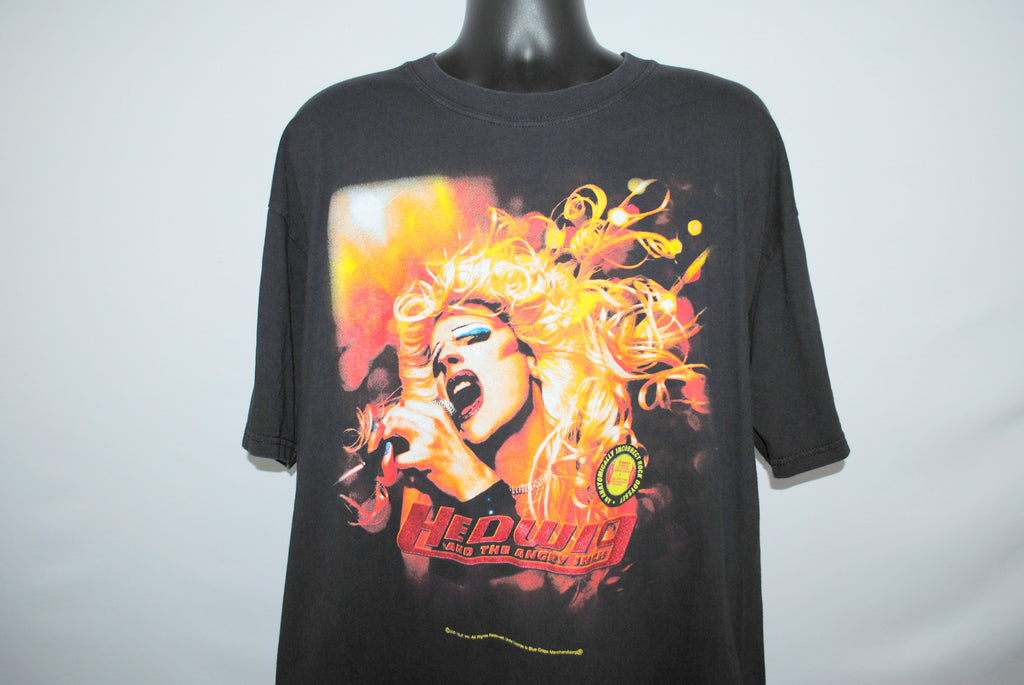 2001 Hedwig and the Angry Inch Rare Vintage Cult Classic John Cameron Mitchell Trans Punk Rock Musical Movie Promo T-Shirt