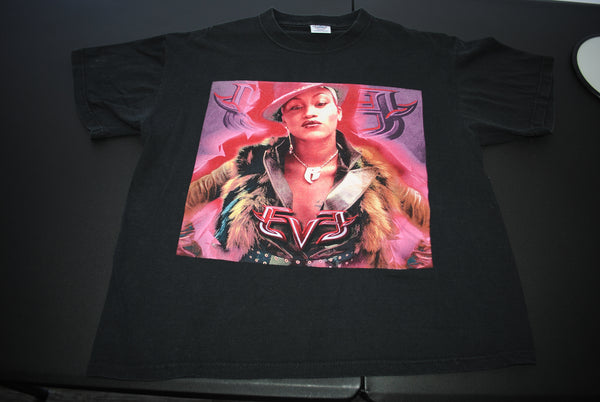 2001 Eve Vintage Let Me Blow Ya Mind ft. Gwen Stefani Era Scorpion Album Promo Classic Bootleg Y2k Rap Tee Ruff Ryders Hip Hop Concert Tour T-Shirt