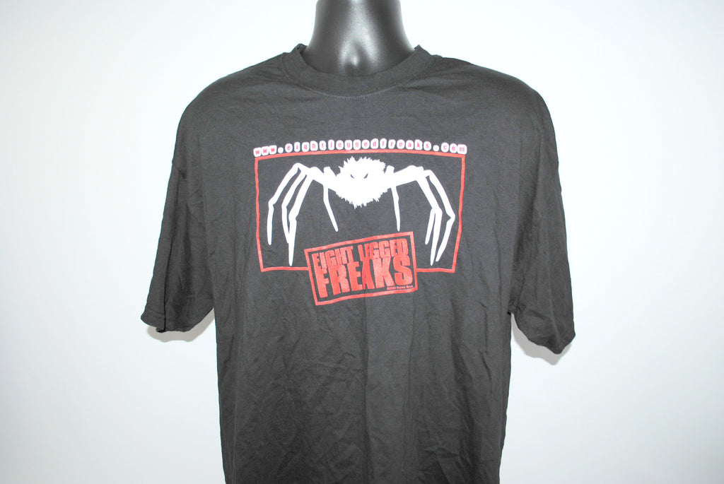 2002 Eight Legged Freaks Vintage Cult Classic Horror Comedy Movie Promo T-Shirt
