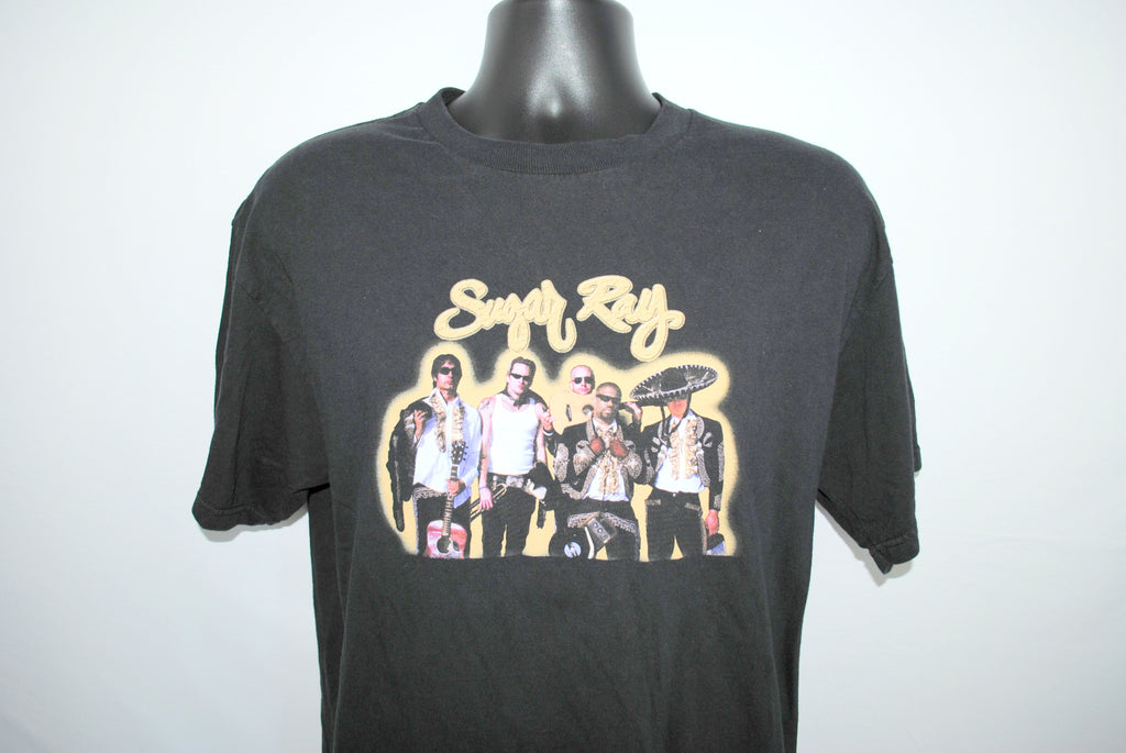 2003 Sugar Ray In Pursuit Of Leisure Rare Vintage Alternative Rock Radio Band Concert Tour T-Shirt