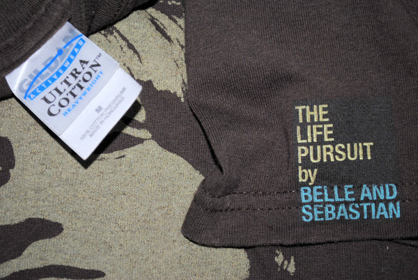 2006 Belle and Sebastian The Life Pursuit Classic 00's Indie Rock Album Promo Concert Tour T-Shirt