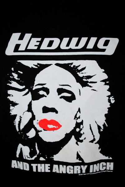 2001 Hedwig and the Angry Inch Rare Vintage Cult Classic Transgender Punk Rock John Cameron Mitchell Musical Movie Promo T-Shirt