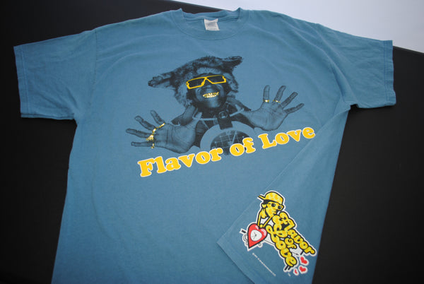 2007 Flavor of Love Vintage Flavor Flav Classic y2k Pop Culture VH1 Reality TV Dating Show Promo T-Shirt