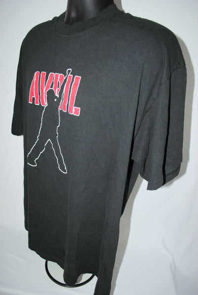 2002 Avril Let Go Rare Vintage Sk8r Boi Era Classic MTV TRL '00 Pop Punk Rock Tour T-Shirt