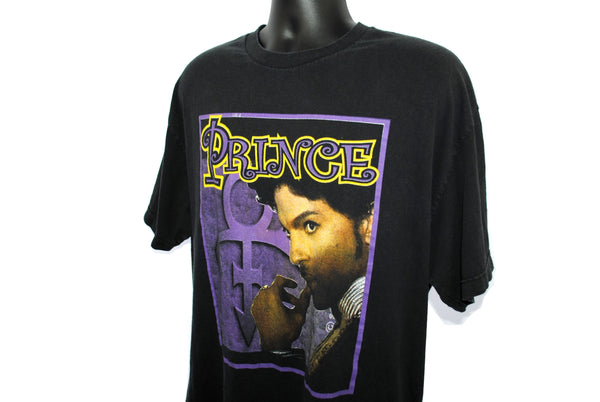 2004 Prince Vintage Call My Name Era Musicology Album Promo Classic Y2K Psychedelic Funk Rap Tee Style Concert Tour T-Shirt