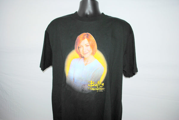 2000 Willow Rosenberg RARE Vintage Cult Classic Buffy The Vampire Slayer Character WB Teen Melodrama TV Show Promo T-Shirt