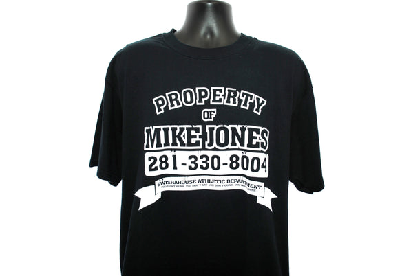 2005 Mike Jones 281-330-8004 Vintage Who Is Mike Jones Featuring Still Tippin' Swisha House Album Promo Hip Hop T-Shirt