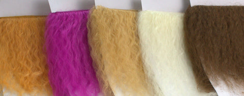 Mohair Wefts