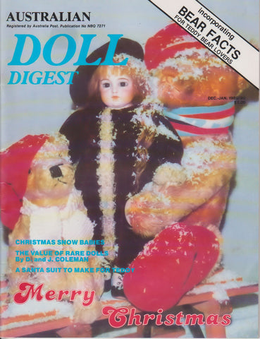 Australian Doll Digest 8912- Dec/Jan 1989